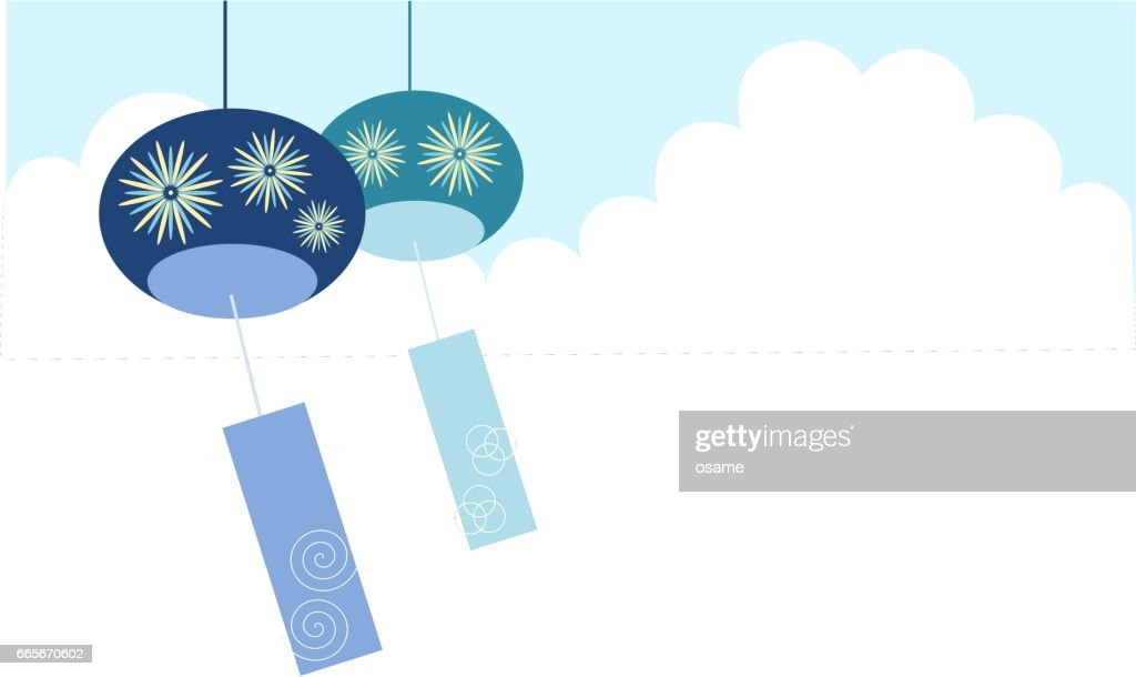 Illustration of wind‐bell