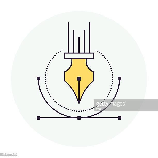Illustration Pen Symbol