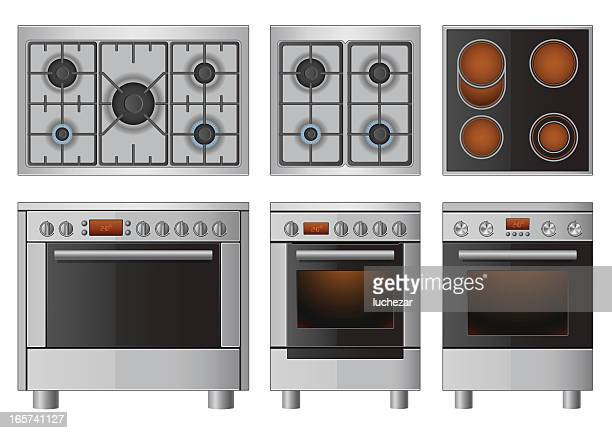 Oven Premium Stock Vector Art And Graphics Getty Images