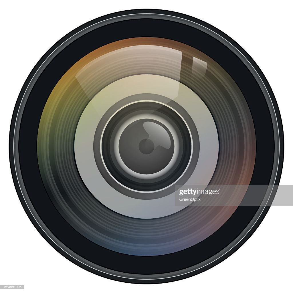 Illustration Vector Graphic Lens