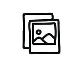image icon hand drawn design illustration