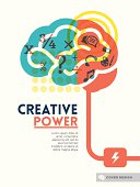Image illustrating the creative power of the brain