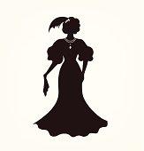 Image of aristocratic woman