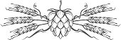image of hop and barley ear