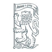 Image of the heraldic lion