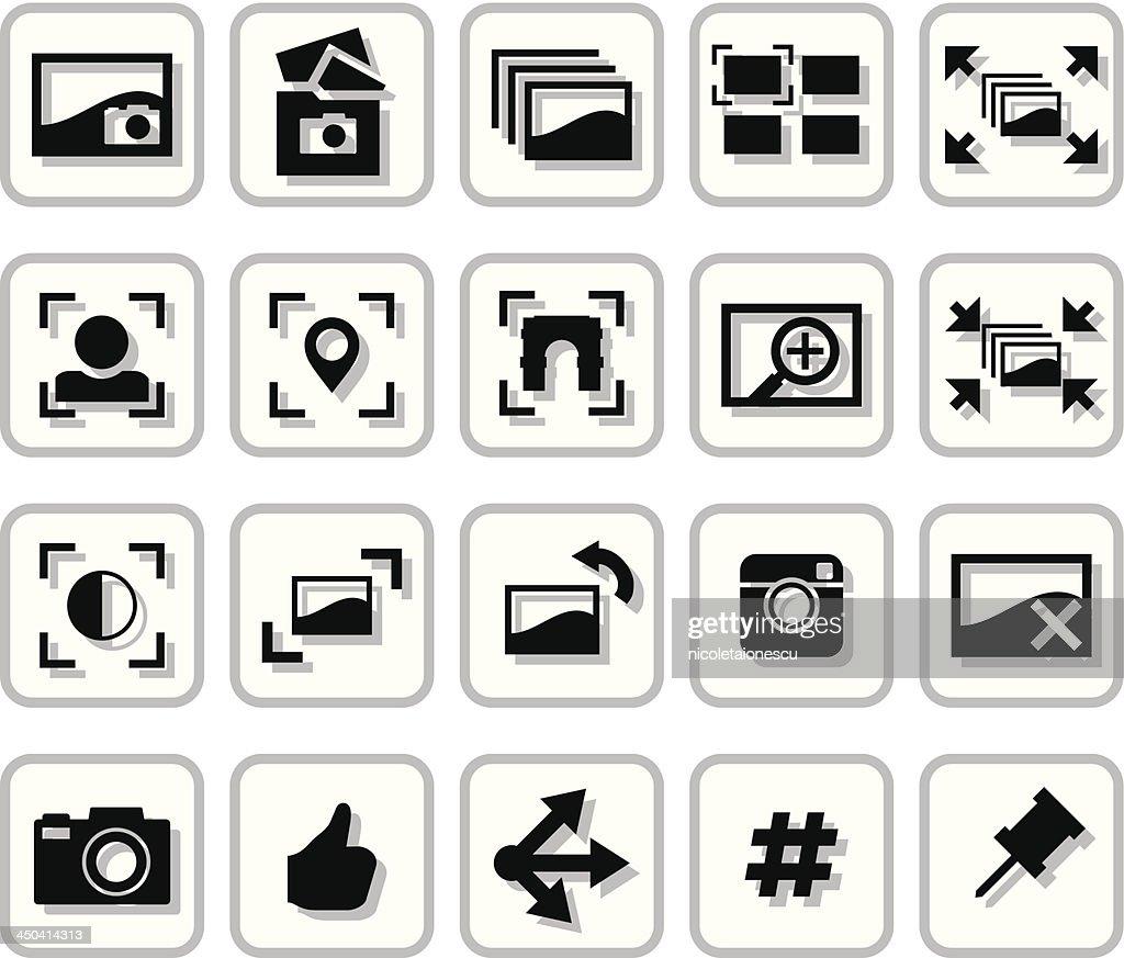 Image Sharing Icons