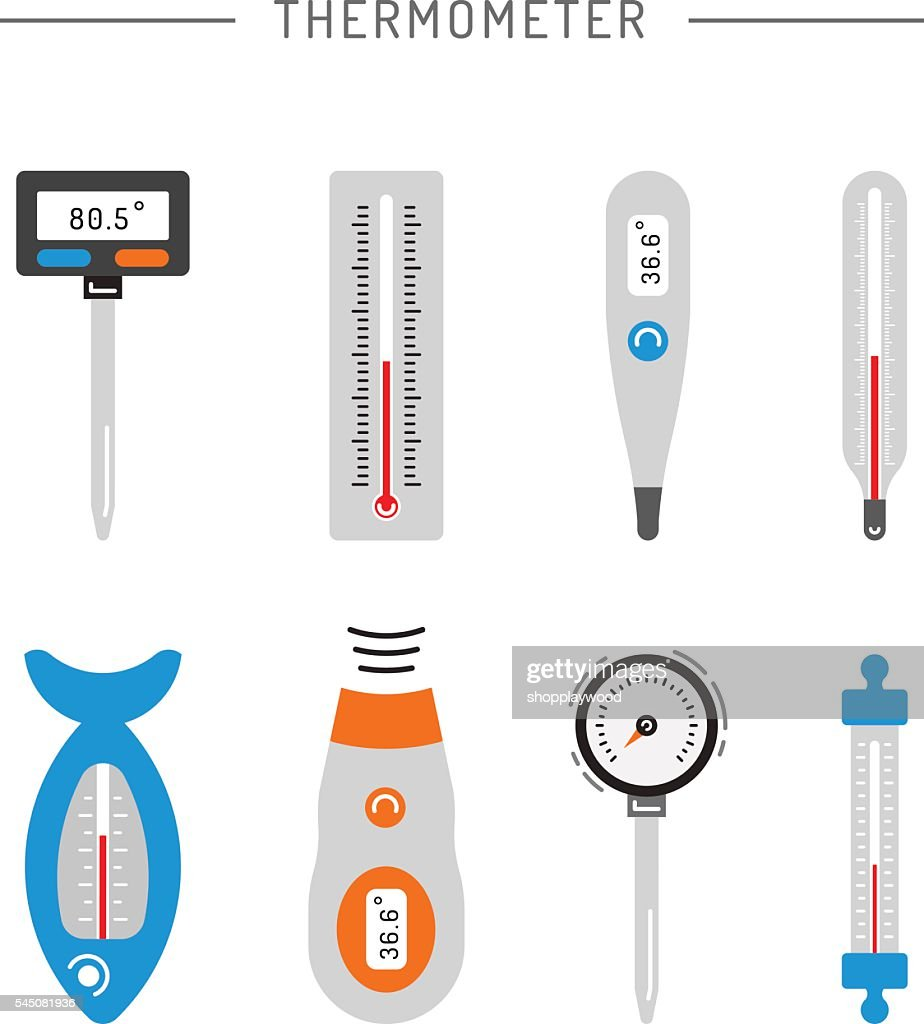 Image thermometer icons