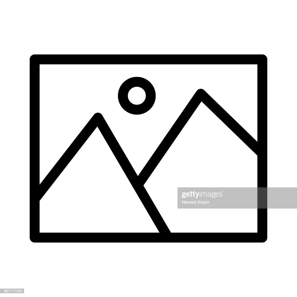Image Thin Line Vector Icons
