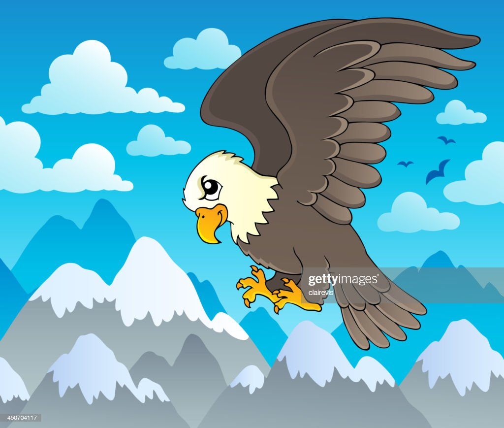 Image with eagle theme 1