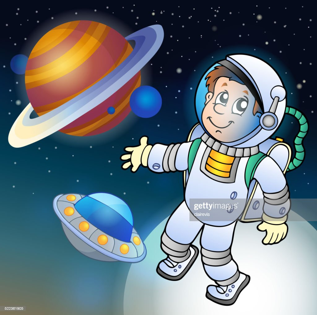 Image with space theme 1