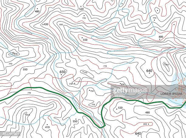 Imaginary Topographic Map