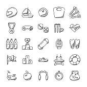 Imaginative Sports Icon Set