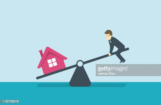 imbalance - unfairness stock illustrations