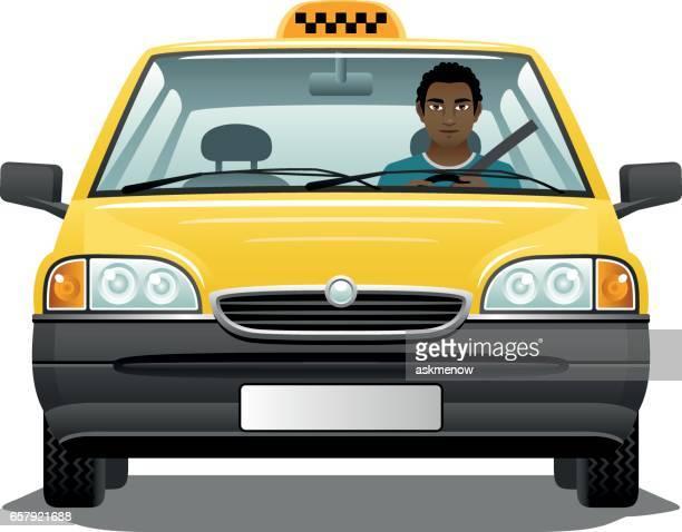 ilustraciones, imágenes clip art, dibujos animados e iconos de stock de taxista inmigrante - taxista