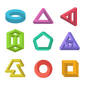 Impossible objects set