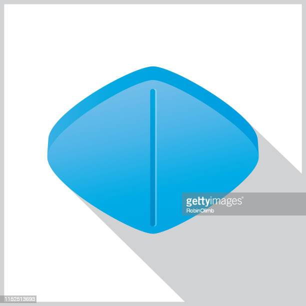 impotence tablet seamless pattern - viagra stock illustrations