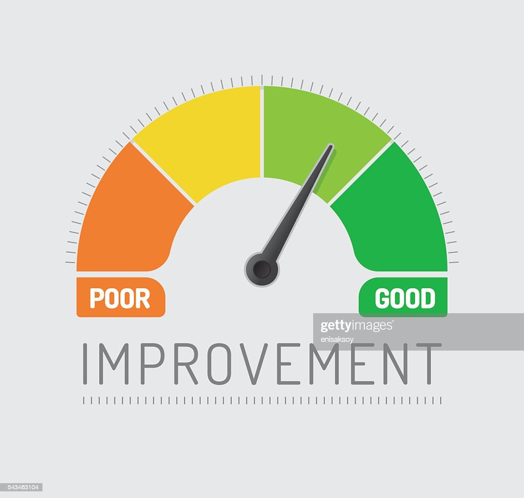 Improvement Chart : stock illustration