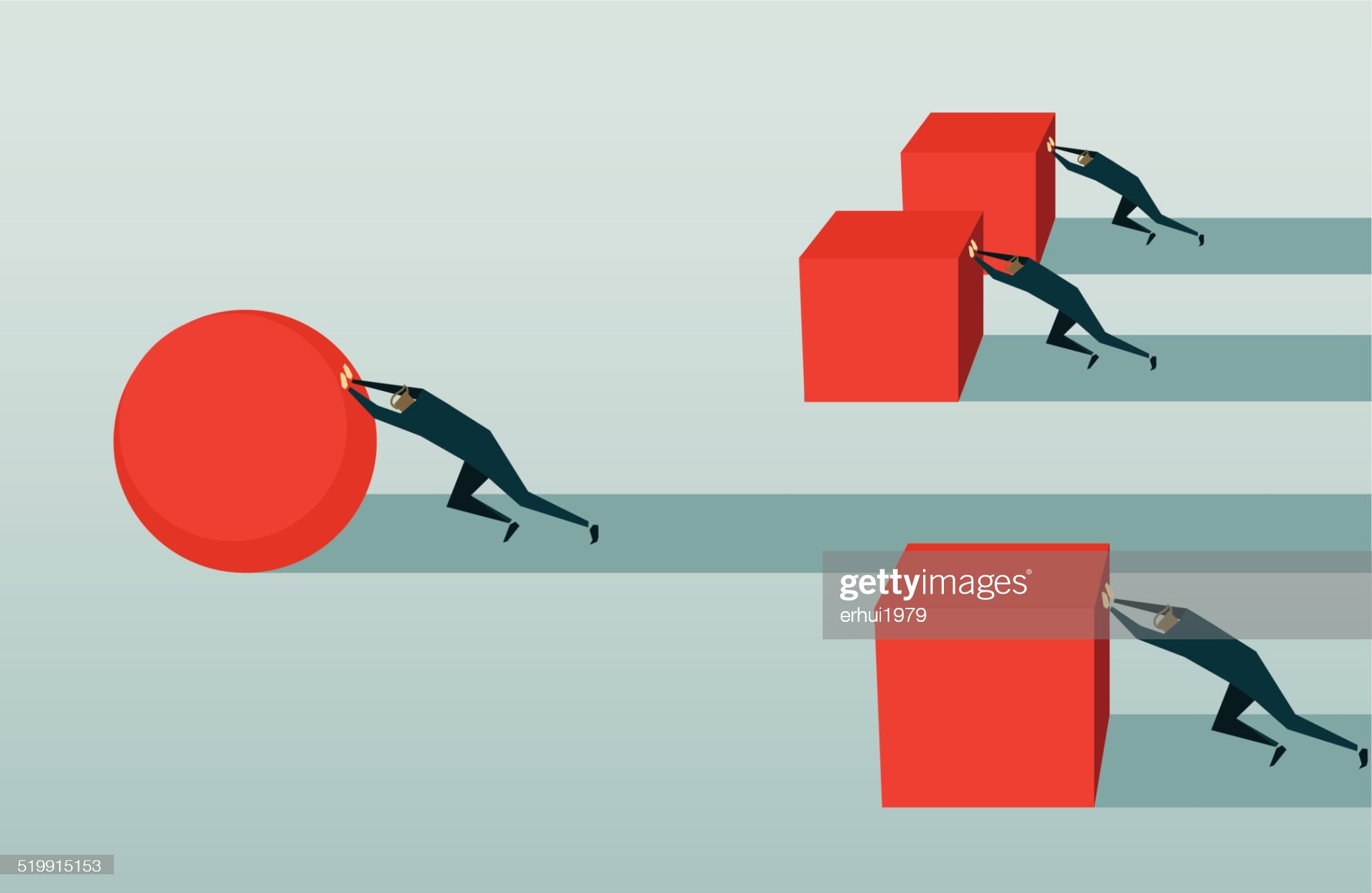 Improvement, Competition, Pursuit, Challenge, Conquering Adversity, Strategy,  Efficiency, Solution : stock illustration