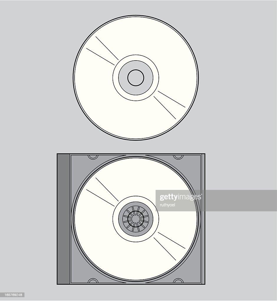 CD in a case (jewel box)