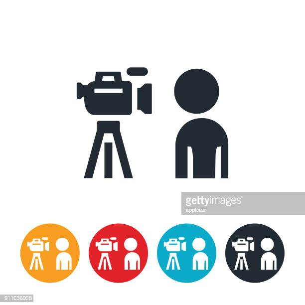 In Front of The Camera Icon