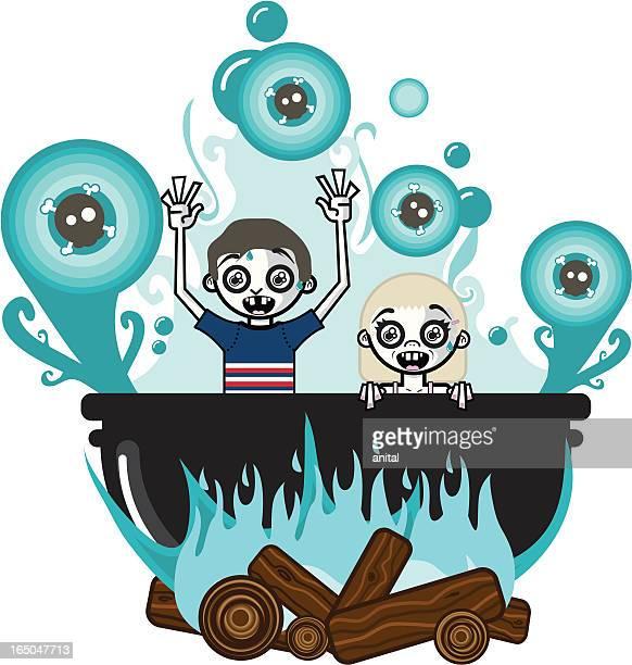 In Hot Water (Vector)