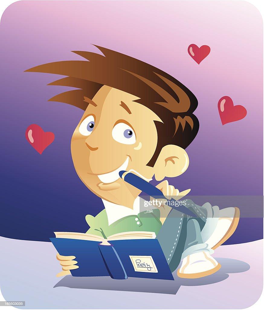 in love : stock illustration
