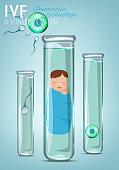 In vitro fertilisation concept