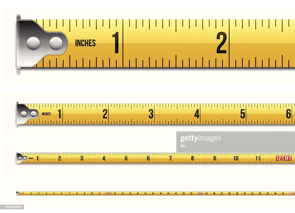 Inches and Feet Tape Measure