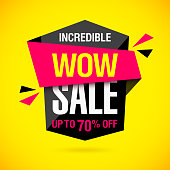 Incredible Wow Sale banner