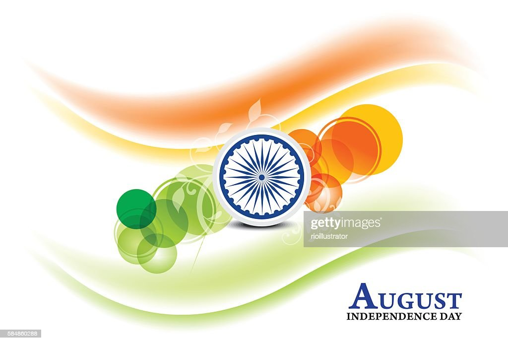 independence day background with ashok chakra