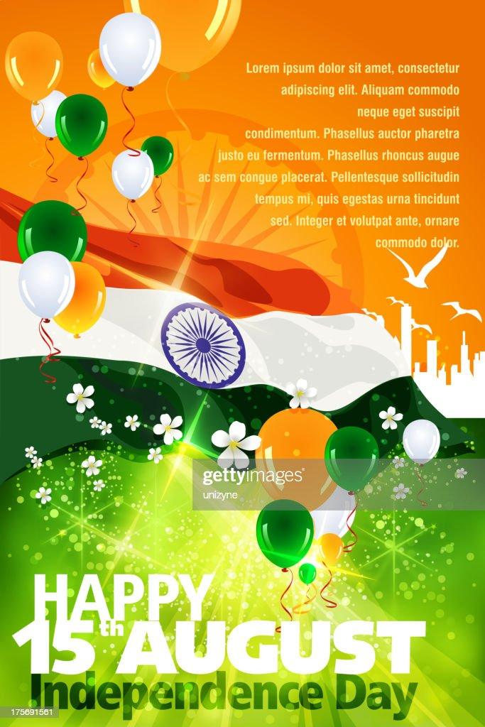 Independence Day Celebration of India : stock illustration