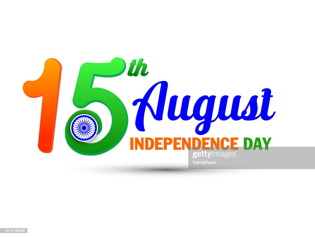 Independence day of India. 15 August. Vector illustration