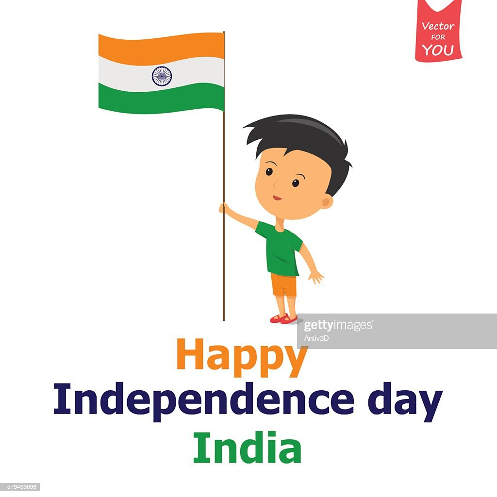 india independence boy