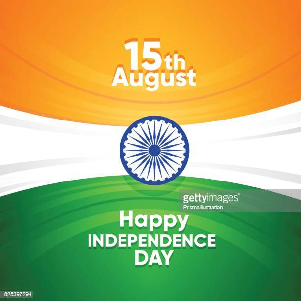 india independence day background - independence day stock illustrations, clip art, cartoons, & icons
