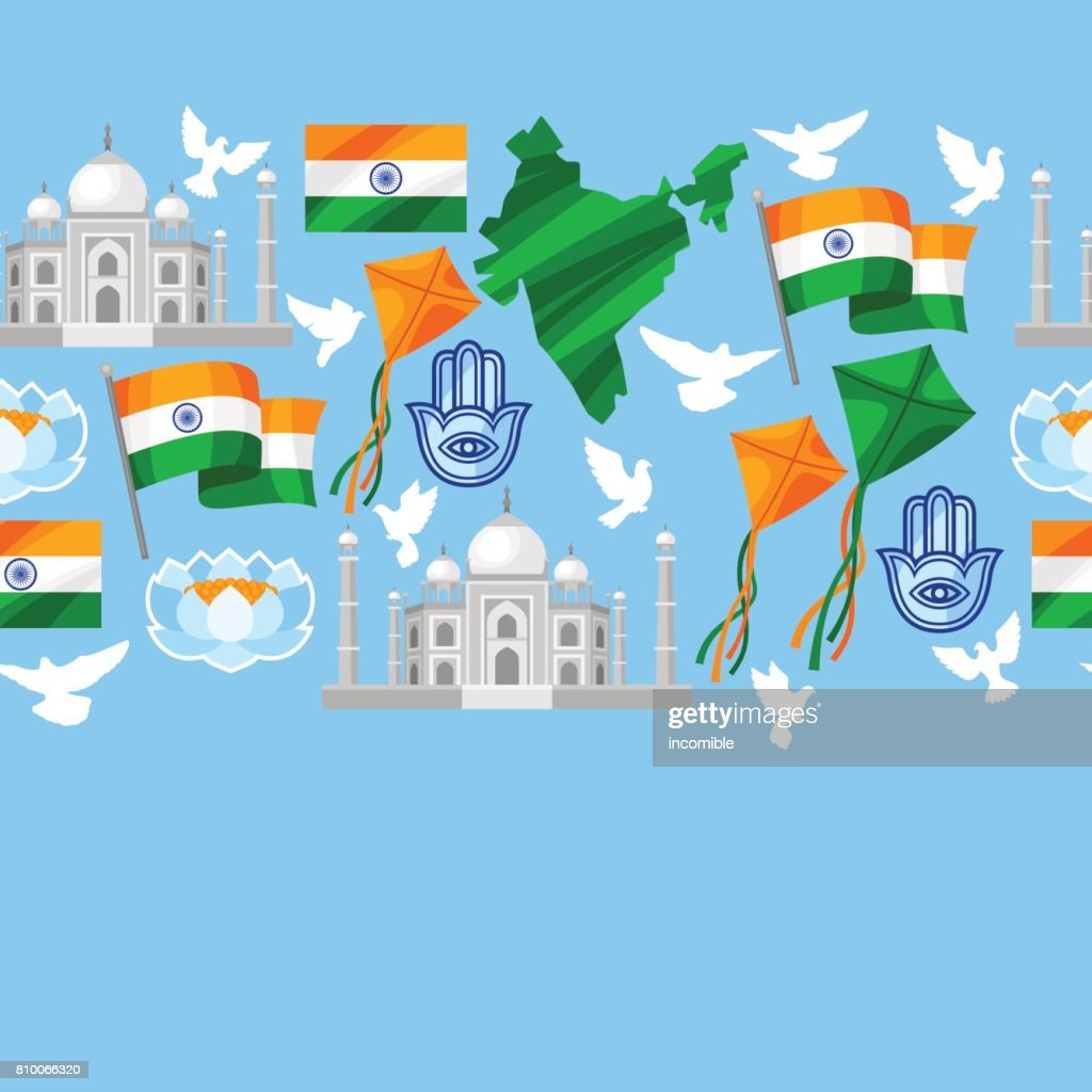 India Independence Day Greeting Card Celebration 15 Th Of August