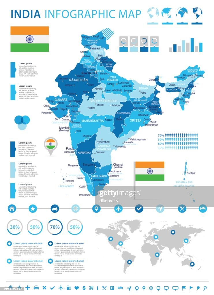 13 - India Map - 4B Infographic 10
