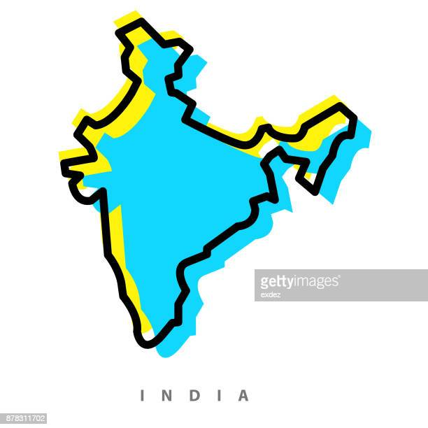 India map illustration
