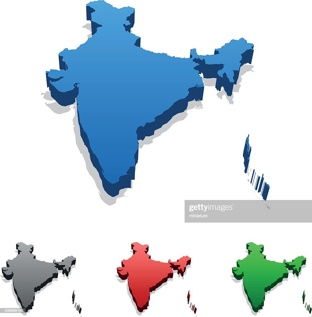 India Map Vector Art Getty Images - India map vector