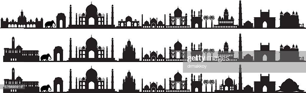 インドのシンボル : ストックイラストレーション