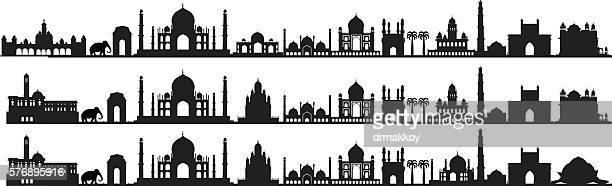 インドのシンボル - マハラシュトラ州点のイラスト素材/クリップアート素材/マンガ素材/アイコン素材
