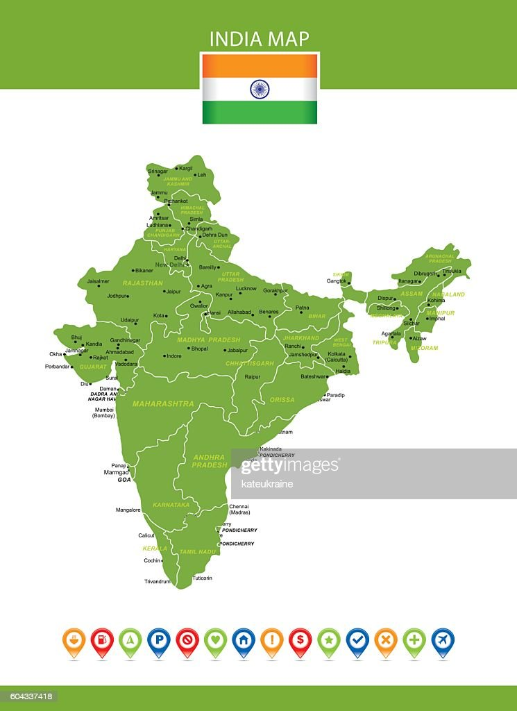 India Vector Map