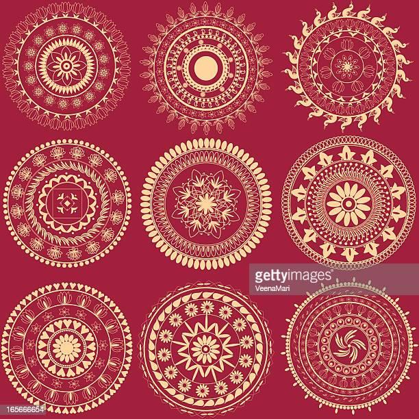 Indian Circle Designs