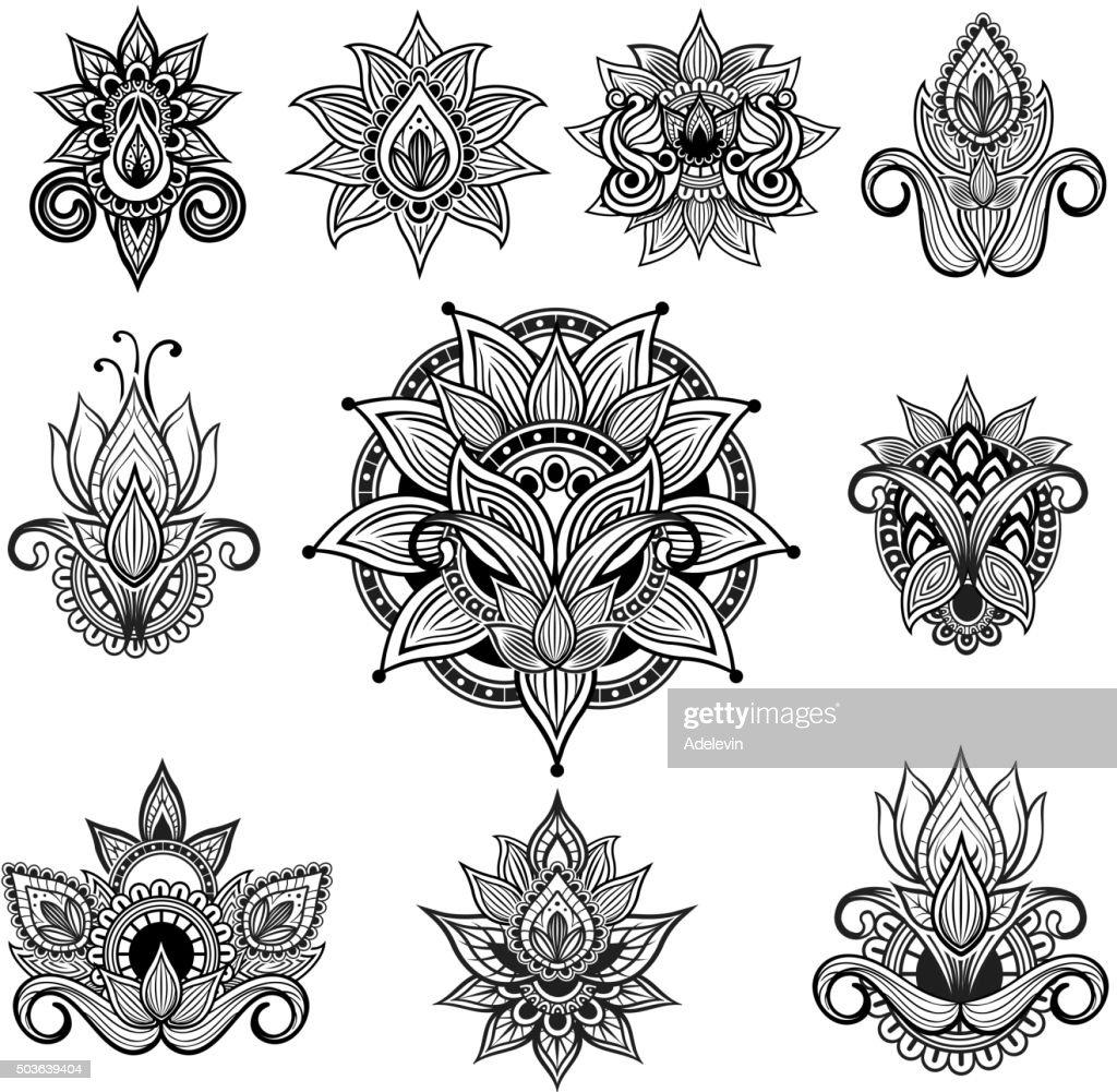 Indian ornamental flowers