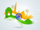 Indian Republic Day and Independence Day celebrations.