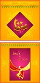 Indian wedding invitation card
