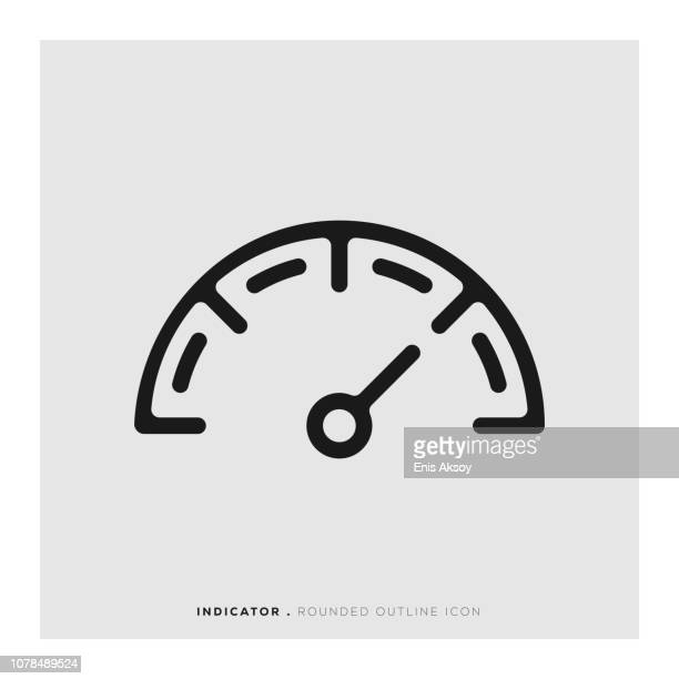 Indicator Rounded Line Icon