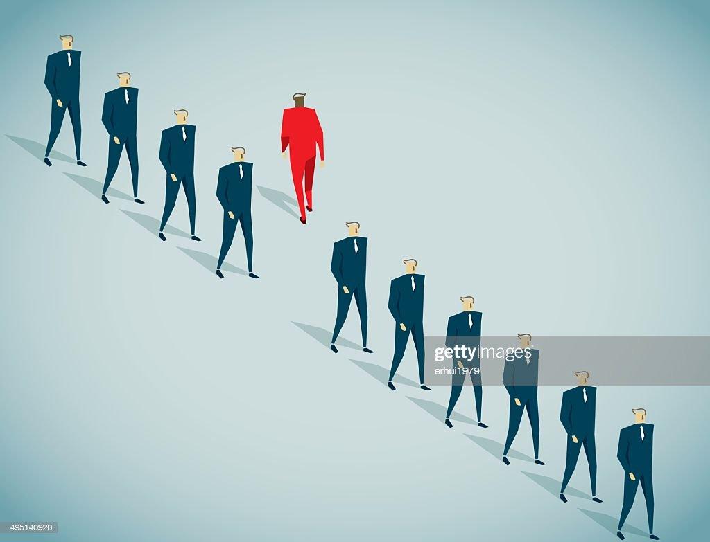 Individualidad : Ilustración de stock