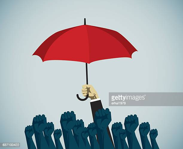 individuality - labor union stock illustrations