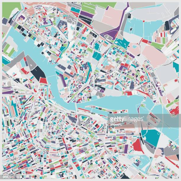 individuation map of Amsterdam city