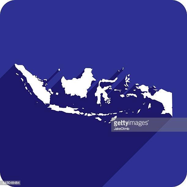 Indonesia Icon Silhouette